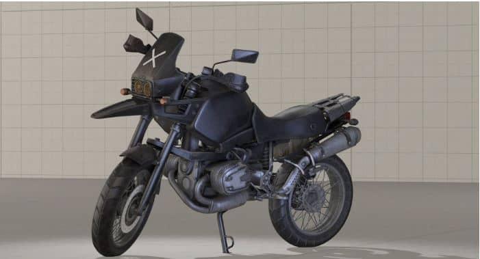 мотоцикл без коляски в PUBG