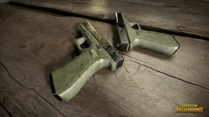 пистолеты PUBG Mobile