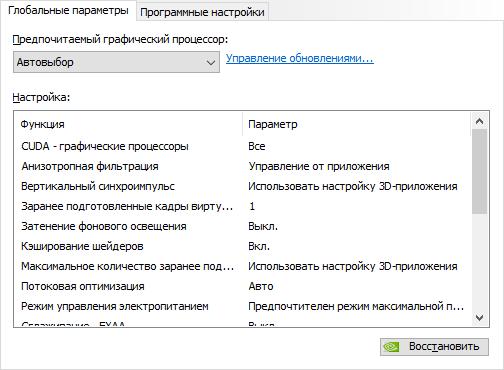 Настройка NVidia для pubg