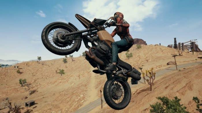 Как управлять мотоциклом в PUBG